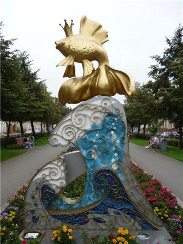 памятники литературным героям в россии с фото